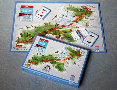 Il Trenino Rosso: un gioco e un  libro